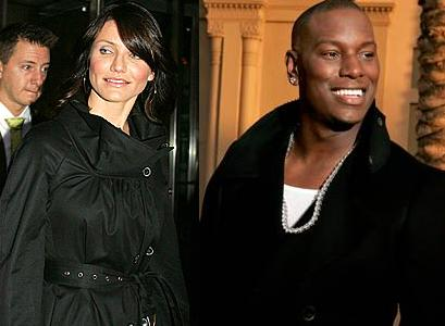 Cameron Diaz and Tyrese Gibson
