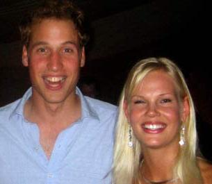 Prince William With Mystery Blonde