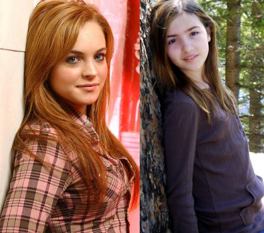 Photo of Lindsay Lohan & her Half Sister  Ashley Kaufmann