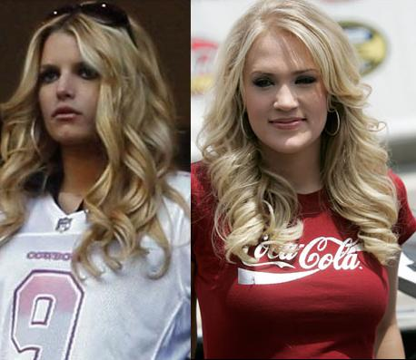 Jessica Simpson, Carrie Underwood