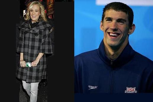 Carrie Underwood And Michael Phelps