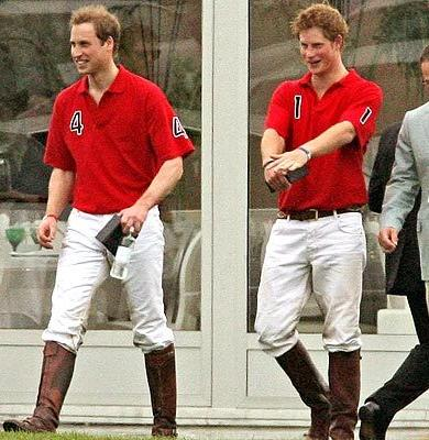 prince william and harry official photo. Prince William is a keen