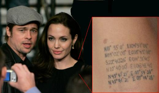 Angelina Jolie's New Tattoos In A Red Carpet. Monday, October 6th, 2008