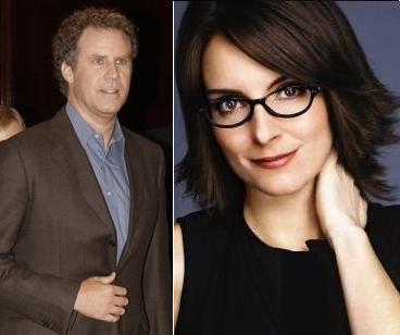Will Ferrell And Tina Fey