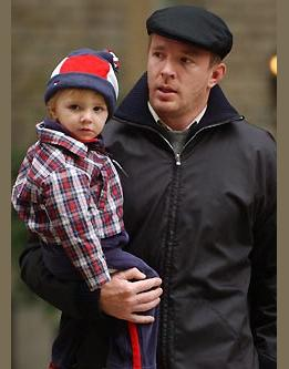 Rocco And Guy Ritchie