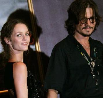 johnny depp and his wife vanessa paradis. Vanessa Paradis, who is the partner of Hollywood actor Johnny Depp,