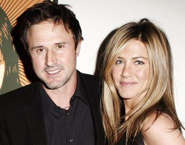 David Arquette and Jennifer Aniston