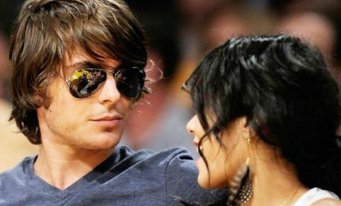 zac efron and vanessa hudgens kissing in bed pictures. Zac Efron amp; Vanessa Hudgens