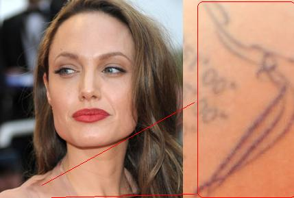 Angelina Jolie has reportedly added a new tattoo to her bodily collection,