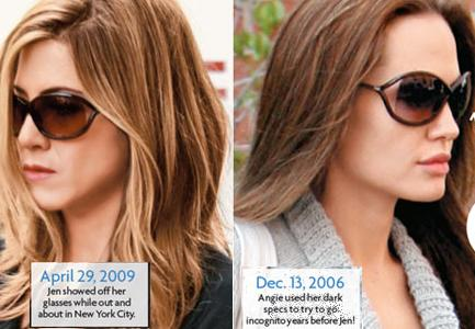 jennifer aniston fashion. Jolie vs Jennifer Aniston: