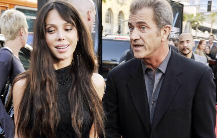Girlfriend and Mel Gibson