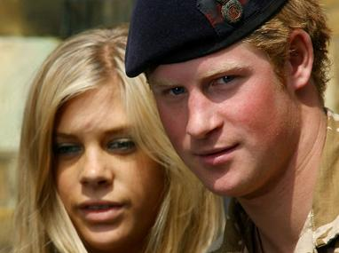 Chelsy Davy and Prince Harry