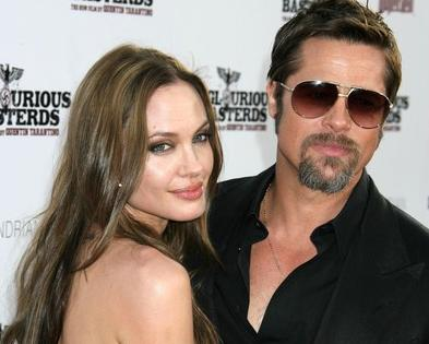 of intentionally stealing partner Brad Pitt's thunder at the recent Los