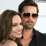 Brad Pitt & Angelina Jolie Go Shopping For Gerbils