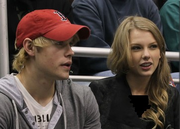 Chord Overstreet And Taylor Swift