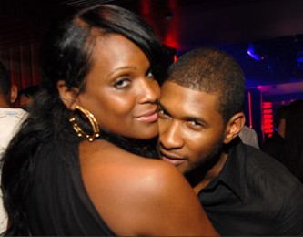 Tameka Foster and Usher