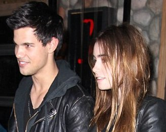 Taylor Lautner And Lily Collins