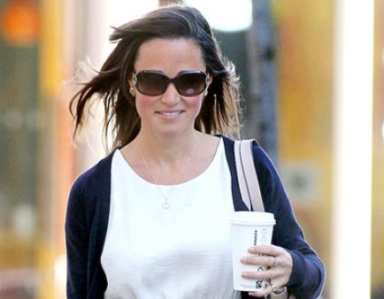 alex loudon pippa middleton. Pippa Middleton Grabbed Coffee