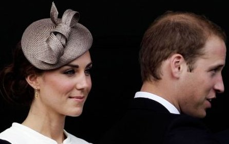 Kate Middleton and Prince William,