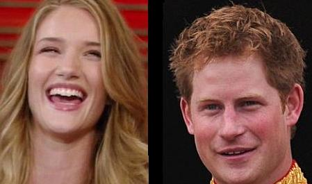 Rosie Huntington-Whiteley and Prince Harry