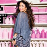 Vanessa Hudgens Poses For New Candie's Campaign