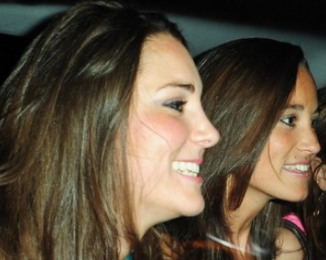 Duchess Kate and Pippa Middleton