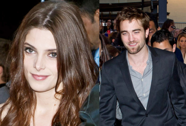 Ashley Greene and Robert Pattinson