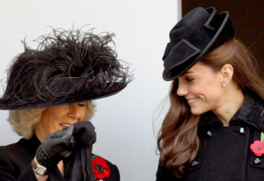 Duchess Camilla and Duchess Kate