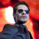 Marc Anthony Treats Two U.S. Marines At V.I.P. Table