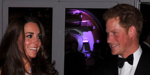 Duchess Kate and Prince Harry