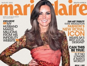 kate middleton, kate middleton cover, marie claire magazine