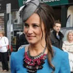 Pippa Middleton Attends Wedding At Hexham Abbey