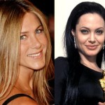 Jennifer Aniston & Angelina Jolie Fight Over Brad Pitt's Mom