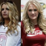 "Jessica Simpson Laughs At ""Calling Carrie Underwood"" Rumor"