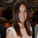 Pippa Middleton Attends Waitrose Summer Party In Peach Floral Dress