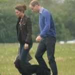 Duchess Kate And Prince William's Helicopter Lift To London