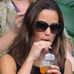 Pippa Middleton Shares Her Delight With Pimm's Drink