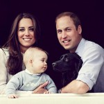 Prince George Joins His Parents For The Mother's Day Portrait