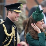 Duchess Kate And Prince William Attended St. Patrick's Day Parade