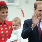 Duchess Kate And Prince William Arrive In Wellington With Prince George