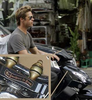 Brad Pitt Dedication To Angelina Jolie?