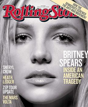 Britney Spears' Rolling Stone cover