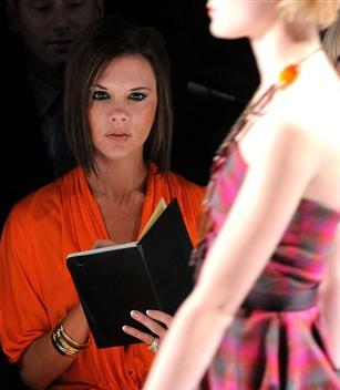 Victoria Beckham In Project Runaway