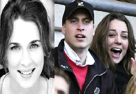 Carly Massy-Birch, Prince William & Kate Middleton