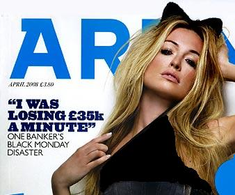 Cat Deeley Posed For Arena Magazine