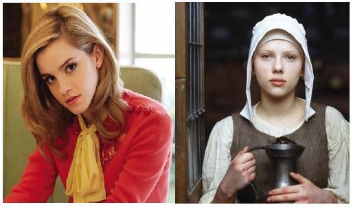 Emma Watson, Scarlett Johansson