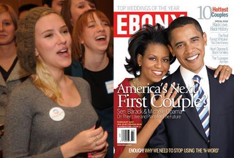 Michelle Obama, Scarlett Johansson