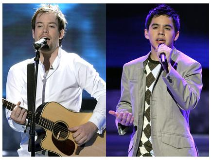 David Cook, David Archuleta