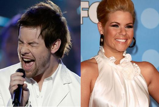 Kimberly Caldwell, David Cook