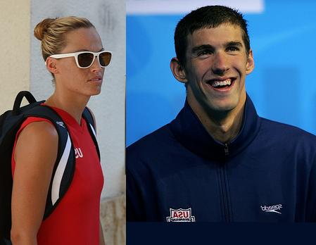 Amanda Beard, Michael Phelps